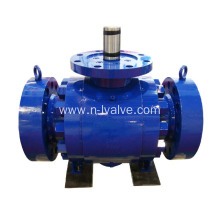 Bare Stem Trunnion Ball Valve